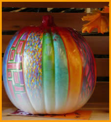 pattern Pumpkin painted by Jack Knight, Painter