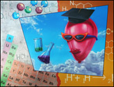 Chemistry Painting by Jack Knight