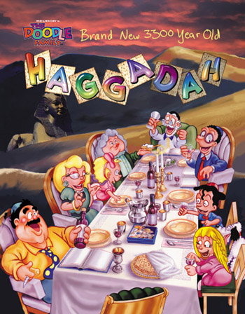 Haggadah Illustrated by Jack Knight